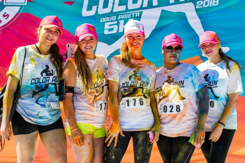 Exitosa carrera 5K Color en Agua Prieta