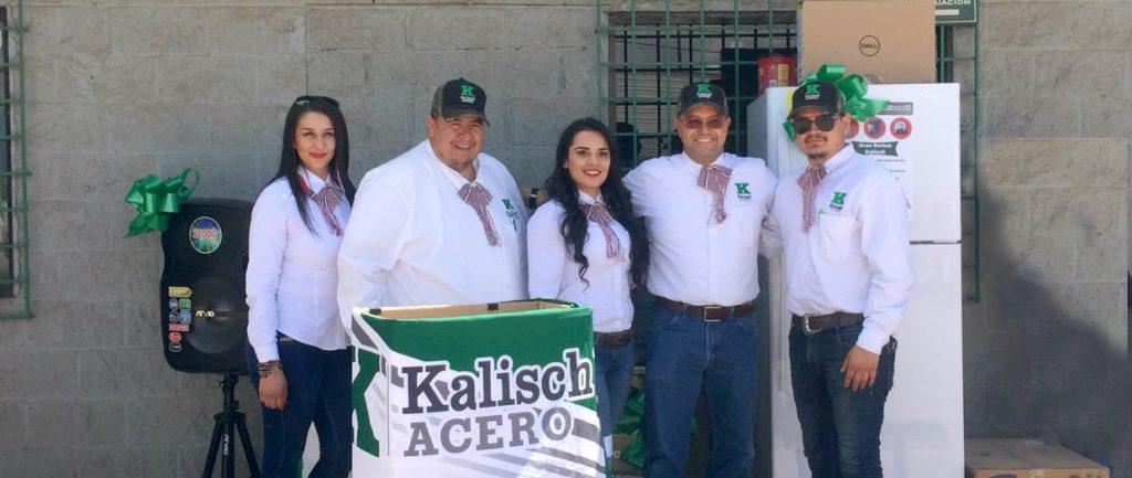Celebra KALISCH ACERO sucursal Agua Prieta su 12 aniversario