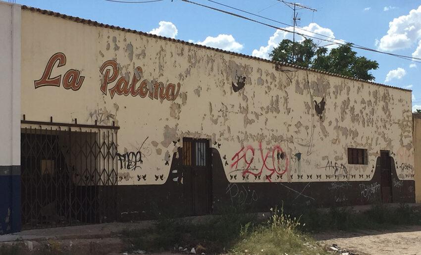 Patio La Paloma… hasta  donde el Diablo bailó