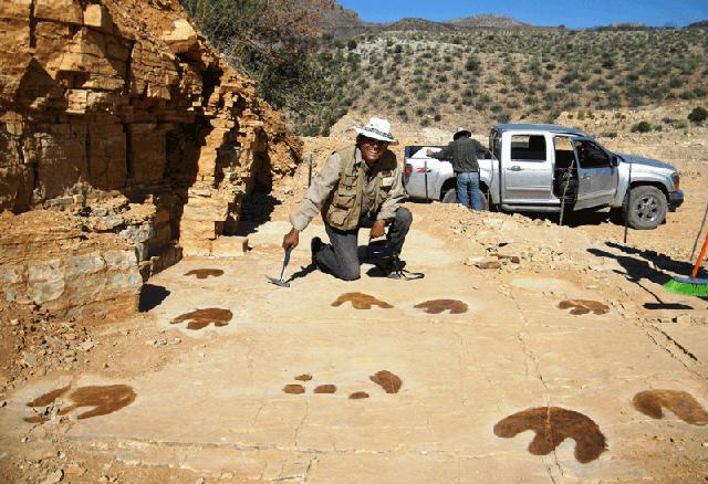 """los gigantes  de la Tierra"""" en Sonora"""